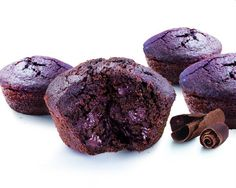Zucchini chocolate muffins tastes as good as it looks