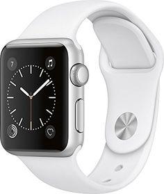 b56f153188e Apple Watch Series 1 38mm Smartwatch (Silver Aluminum Cas... https