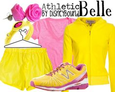"""Belle"" idea for run disney marathon. I want to train for the Princess half marathon so badly.this outfit would be perfect! Run Disney Costumes, Running Costumes, Running Tutu, Running Outfits, Disney Running, Disney Princess Half Marathon, Disney Marathon, Belle Disneybound, Disney Races"