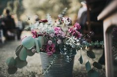 Wedding Flowers at End of Aisle - Abruzzo Italy Wedding With Bride In Bespoke Embellished Dress And Groom In Dsquared Suit With Rustic Styling And Images by Atlas Wedding Stories