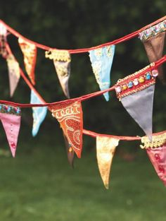 Bollywood Bunting - for a touch of the exotic.