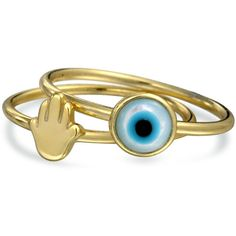 Bling Jewelry Eyes on You Rings (289.870 IDR) ❤ liked on Polyvore featuring jewelry, rings, accessories, bracelets, yellow, hamsa hand ring, hamsa jewelry, hamsa ring, hamsa hand jewelry and yellow ring