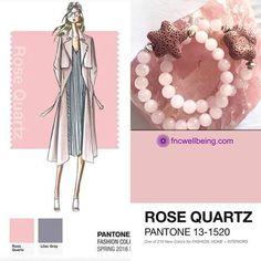 Trend Color 2016 : Rose quartz. #fncwellbeing #pantone #stone #crystalhealing #jewelry #color #rosequartz #etsy #fashion #trend Read more: http://www.fncwellbeing.com/blog/sneak-peek-trend-stone-2016