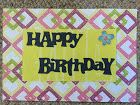 Colorful, Creative Cards: Happy Birthday!! (again...)