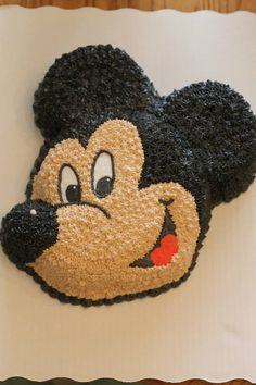 Mickey Mouse Cake | Pixie Cakes