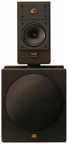 Celestion System 6000 1986. First brilliant use of a dipole subwoofer, and infinite slope crossover in the high range.