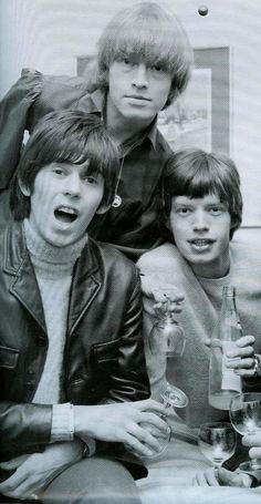 Keith Richards, Brian Jones, and Mick Jagger The Rolling Stones, Brian Jones Rolling Stones, Mick Jagger Rolling Stones, Rock N Roll, Keith Richards Guitars, Rollin Stones, Charlie Watts, Music Pics, British Rock