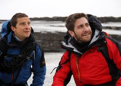 Jake Gyllenhaal AND Bear Grylls? awesome.