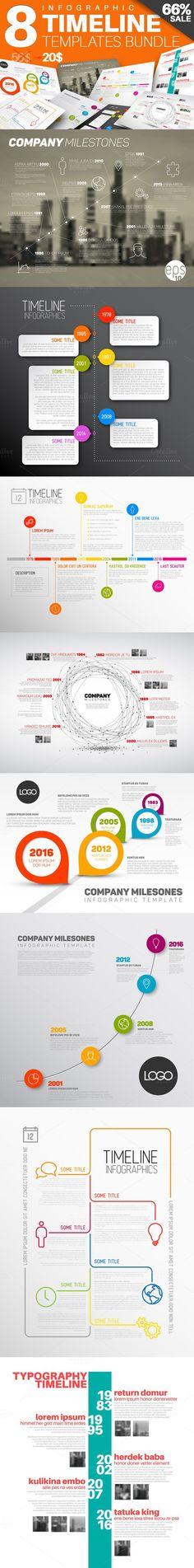 Flat 3D Isometric Business Startup by alexdndz on @creativemarket - timeline templates