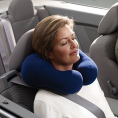 Wrap-Around Neck Pillow with Lavender: The Wrap-around pillow relaxes the neck and shoulder muscles while traveling, reading or watching TV.  http://www.relaxtheback.com/travel/travel-pillows/wrap-around-neck-pillow-with-lavender.html