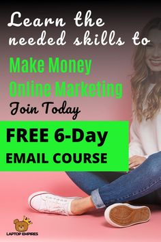 Get Your 6 Day Email Course - Finance tips, saving money, budgeting planner Work From Home Jobs, Make Money From Home, Way To Make Money, Savings Planner, Budget Planner, Earn Money Online, Online Jobs, Internet Marketing, Online Marketing