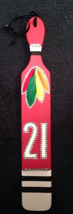 21st hawks paddle for my little!