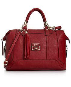 GUESS Handbag, Gerri Box Satchel - Guess - Handbags & Accessories - Macy's