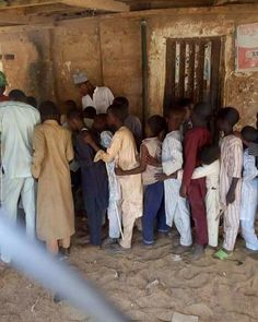SHOCKING!!  See Small Children Pictured Voting In Local Government Elections In Kano State (Photos)