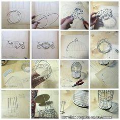 Make a small Bird cage