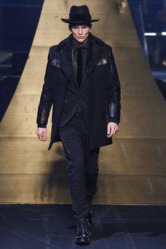 biker field jacket | Philipp Plein Fall 2016 Menswear Fashion Show