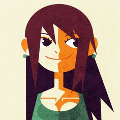 Low Poly Girl by lemon5ky