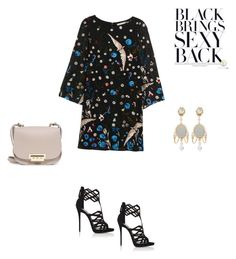 """Sexy back"" by francy78 on Polyvore featuring moda, Alice + Olivia, Giuseppe Zanotti, ZAC Zac Posen e Dolce&Gabbana"