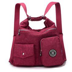 Baby diaper handbag Crossbody Bags Women Large capacity mother Mummy pack multifunctional waterproof nylon Messenger Bags