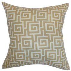 Warder Cotton Throw Pillow