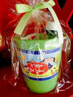 Show da Luna ! Dragon Ball Z, Party Themes, Party Ideas, Birthday Parties, Lunch Box, Alice, Kids, Milena, Maria Clara