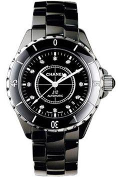 Chanel h1626 J12 Black Automatic H1626