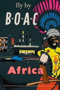 Fly by BOAC - Africa