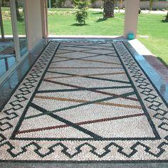 Artistic Pebble mozaik. By Mehmet ışıklı Antalya Türkiye 2004