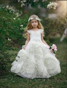 Shop our selection of stunning wedding dresses and gowns, bridesmaid dresses, and mother of the bride dresses. Lilac Flower Girl Dresses, Toddler Flower Girl Dresses, Tulle Flower Girl, Lilac Dress, Little Girl Dresses, Girls Dresses, Dollcake Dresses, Ball Gown Dresses, The Dress