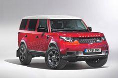 Land Rover Defender LWB front