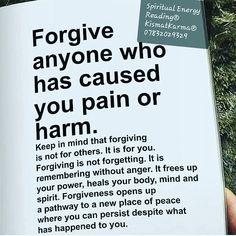 #newchapterinlife #forgive for #selfpeace #helpushelpyou #call07832029329 or #visit www.kismatkarma.com #interactive #live on #skychannel714 #tuesday9pm Psychic Readings, New Chapter, Forgiveness, Karma, Spirituality, Self, Mindfulness, Healing, Peace