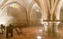 Visite virtuelle de la Charente - Jarnac : crypte de l'église Saint-Pierre