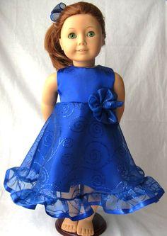 American Girl Doll Dress, via Etsy