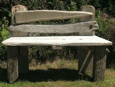 Garden Bench - it looks so soft and warm.