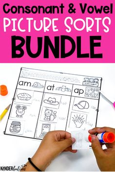 These picture sorts are a hands-on approach to word study and an excellent way for students to learn, practice, and apply phonemic awareness skills. These are great for whole-class teaching, small group instruction, literacy centers, independent practice, distance learning, or homework.