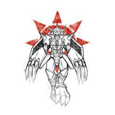 Digimon Wargreymon Grafitti Crest Of Courage