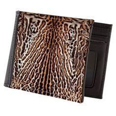 Exotic Tiger Fur Mens Wallet