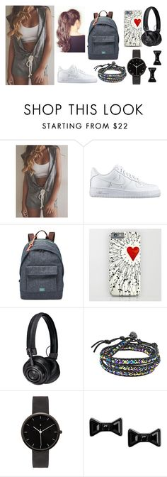 """""""Untitled #920"""" by clariinhafloor on Polyvore featuring NIKE, FOSSIL, Master & Dynamic, AeraVida, I Love Ugly, Marc by Marc Jacobs, women's clothing, women, female and woman"""