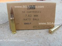 500 round case -  7.62 NATO 147 Grain FMJ M80 IMI Ammo Made by Israel Military Industries Mfg 2014