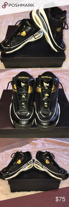 9cd688ba528985 Allen Iverson Reebox Answer1 Authentic used with normal wear in good  condition Reebok Shoes Sneakers Allen