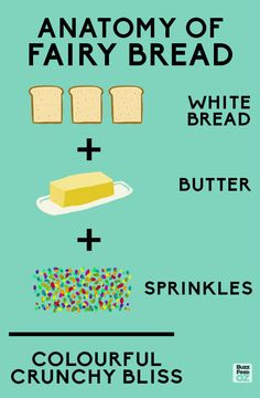Yes, it may seem simple… | Dear World: Australia's Fairy Bread Is The Best Food Ever Invented