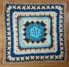 Knutsels van Jolanda: Crochet Along 2015 - week 2  kruisjes haken