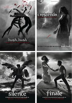Hush, Hush Series by Becca Fitzpatrick (Finale Release Date October the YA books I've been trying lately aren't very good. Ya Books, I Love Books, Great Books, Books To Read, Saga Hush Hush, Lectures, Film Music Books, Fantasy Books, Book Fandoms
