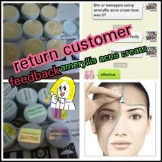 #thanks to my return customer good feedback from jb regarding my ameryllis acne cream. She mention effective for her teenager children. Interested to place order? Pm me joey #instagram #line joey2383 whatsapp 0123757185. price rm30 west and east rm10 postage free #selling#jual#jerawat #igersmalaysia #igshop #instagram #instashop ameryllisnatureskincare.wordpress.com