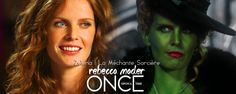 Rebecca Mader | Zelena - La Méchante Sorcière de l'Ouest / The Wicked Witch of the West | http://www.onceuponatimefrance.fr/personnages-casting/zelena