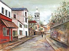 UTRILLO, Maurice (1883-1955), French artist: '