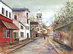 UTRILLO, Maurice (1883-1955), French artist: '