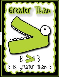 Use this freebie in your class to help your students with comparing numbers using the greater than, less than and equal to sign!