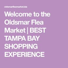 best dating tampa flea markets