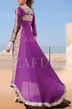 Long Sleeve High Low Purple Dress PURPLE: Maxi Dresses | ZAFUL